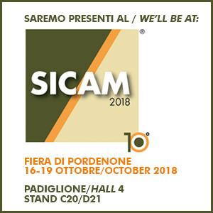 Sicam 2018 logo/data