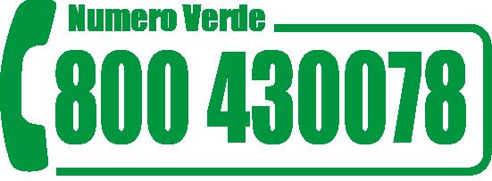 numero verde 800430078