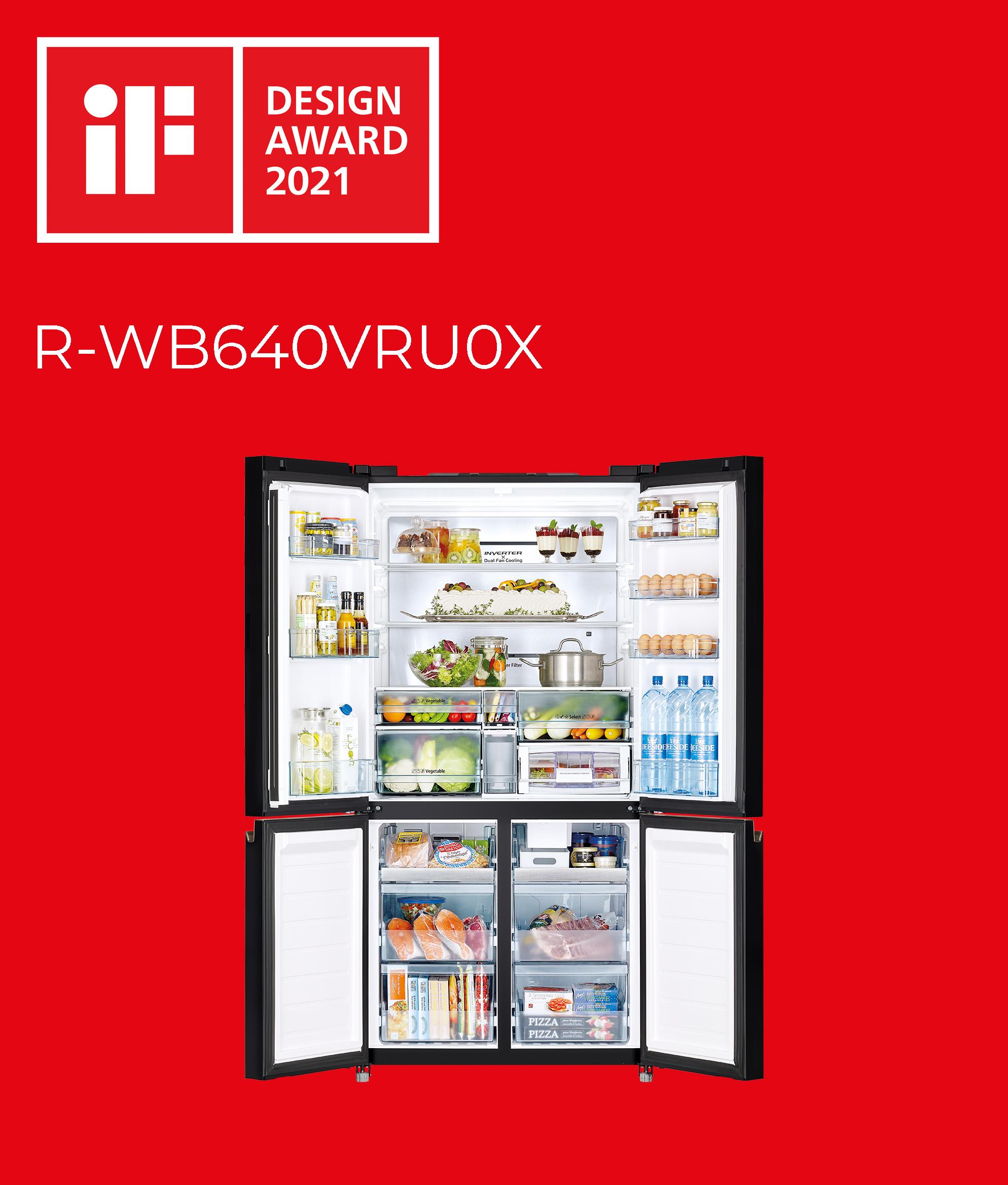 IF Award per HITACHI R-WB640VRU0X
